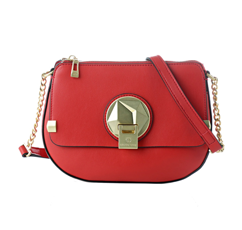 Image 404328_RED.jpg , Product 404-328 / Price $129.88 , Celine Dion Octave Leather Crossbody from Céline Dion Collection on TSC.ca's Shoes & Handbags department