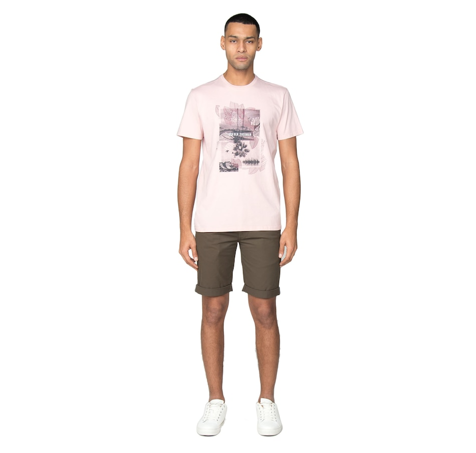 Image 404588_STN.jpg , Product 404-588 / Price $49.88 , Ben Sherman Slim Stretch Chino Short from Ben Sherman  on TSC.ca's Fashion department