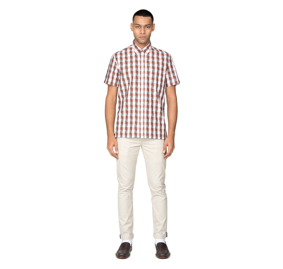 Image 404592_ORA.jpg , Product 404-592 / Price $128.00 , Ben Sherman Short Sleeve Archive Princeton Shirt from Ben Sherman  on TSC.ca's Fashion department