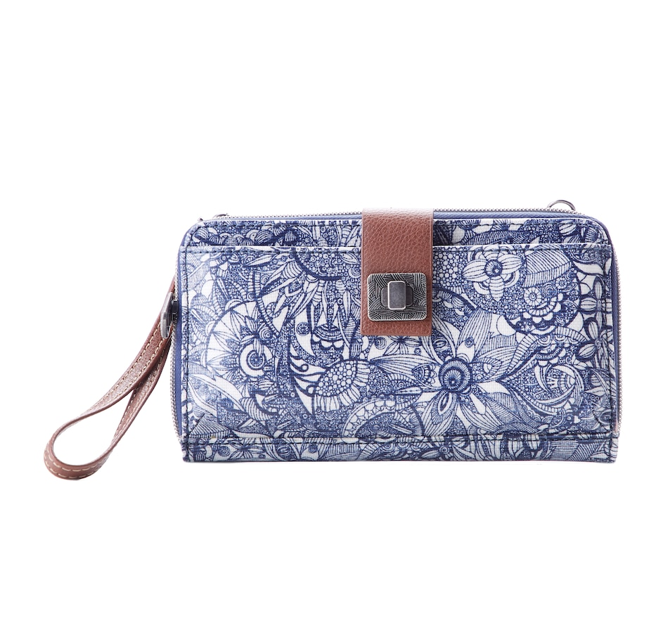 Image 404610_NVY.jpg , Product 404-610 / Price $55.00 , Sakroots Large Smartphone Crossbody from The SAK Handbags on TSC.ca's Shoes & Handbags department