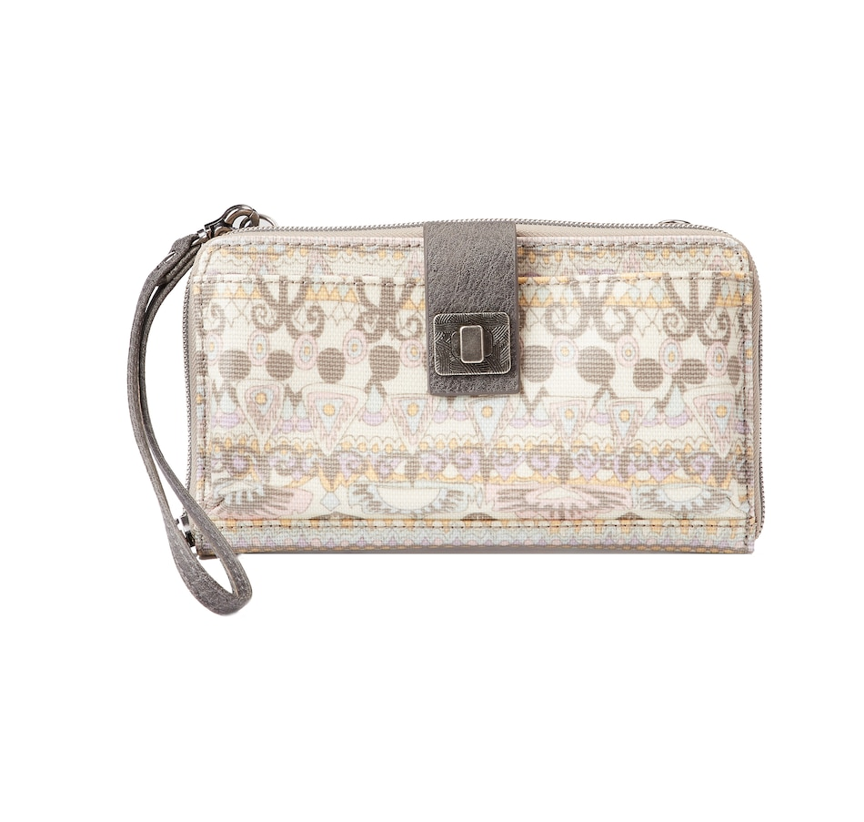 Image 404725_PTM.jpg , Product 404-725 / Price $34.99 , Sakroots Large Smartphone Crossbody from The SAK Handbags on TSC.ca's Shoes & Handbags department