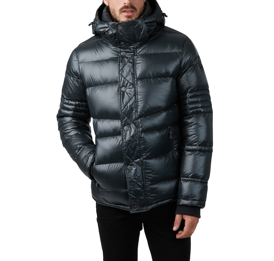 Image 404868_BLK.jpg , Product 404-868 / Price $239.33 , Pajar Outerwear Dorechester Men's Puffer with Detachable Hood from Pajar - Men on TSC.ca's Fashion department