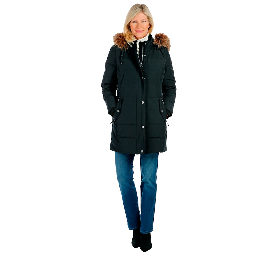 Image 404952_BLK.jpg , Product 404-952 / Price $129.33 , Arctic Expedition Kodiak Mixed Quilted Parka from Arctic Expedition Women's on TSC.ca's Fashion department