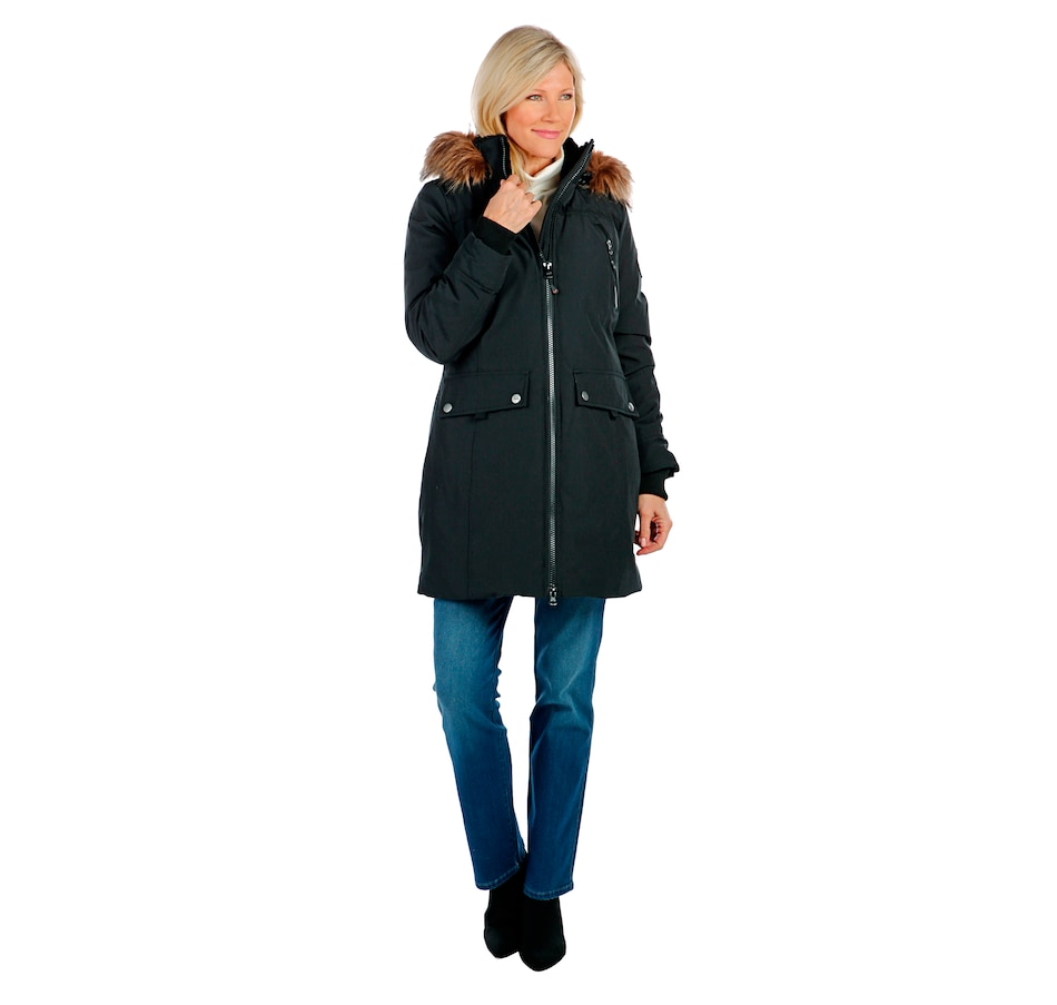 Image 404953_BLK.jpg , Product 404-953 / Price $129.33 , Arctic Expedition Ladies Kodiak Parka with Stand Collar from Arctic Expedition Women's on TSC.ca's Fashion department