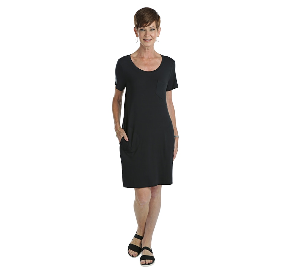 Image 405727_BLK.jpg , Product 405-727 / Price $55.00 , Skechers Apparel Patch Pocket Dress from Skechers on TSC.ca's Fashion department