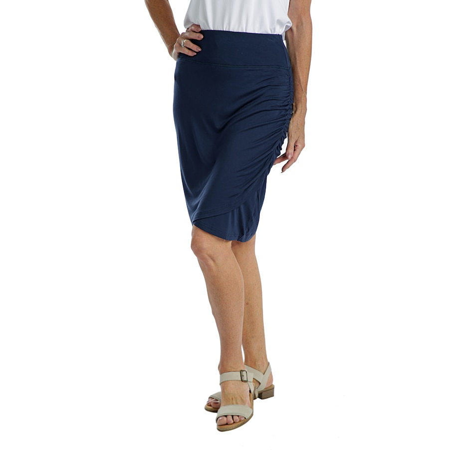 Image 405728_NVY.jpg , Product 405-728 / Price $38.00 , Skechers Apparel High Waisted Skirt from Skechers on TSC.ca's Fashion department