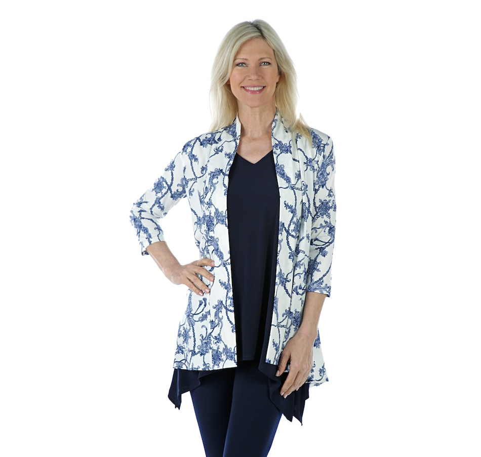 Image 405861_BLP.jpg , Product 405-861 / Price $19.33 , Artizan by Robin Barre 3/4 Sleeve Fashion Cardigan from ARTIZAN by Robin Barré Fashion on TSC.ca's Fashion department