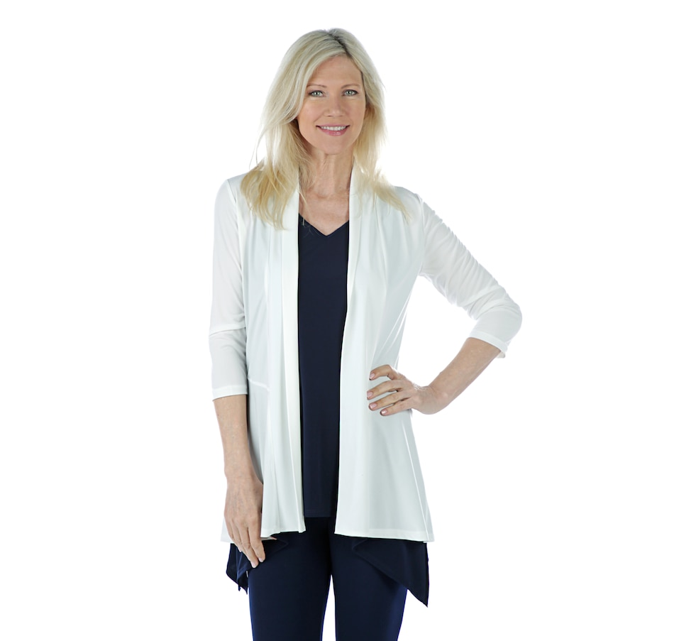 Image 405861_IVR.jpg , Product 405-861 / Price $39.88 , Artizan by Robin Barre 3/4 Sleeve Fashion Cardigan from ARTIZAN by Robin Barré Fashion on TSC.ca's Fashion department