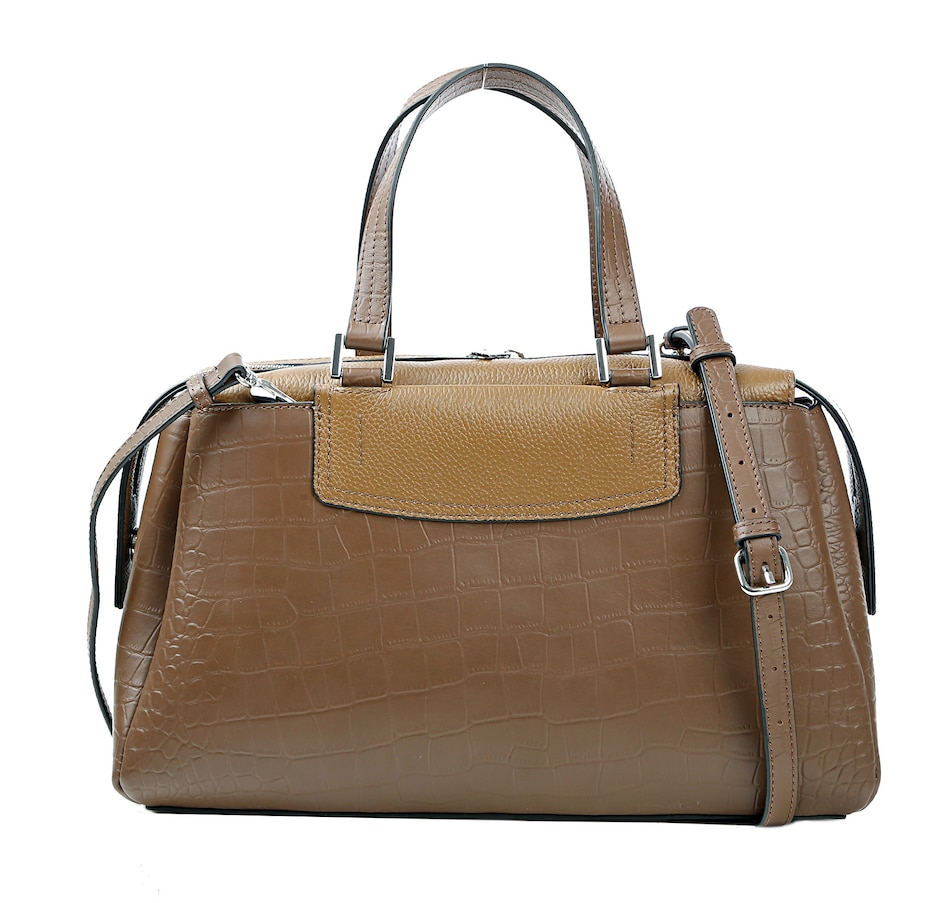 Image 405884_EXP.jpg , Product 405-884 / Price $89.33 , Danielle Nicole Stevie Leather Satchel from Danielle Nicole Handbags on TSC.ca's Shoes & Handbags department