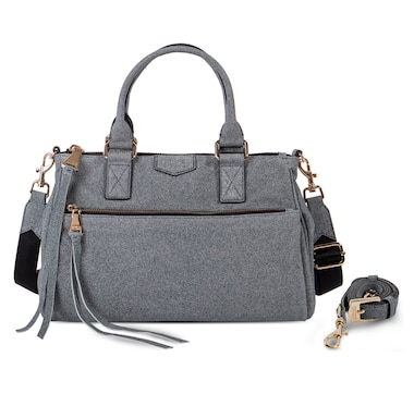 Aimee Kestenberg Dillon Leather Satchel with 2 Straps