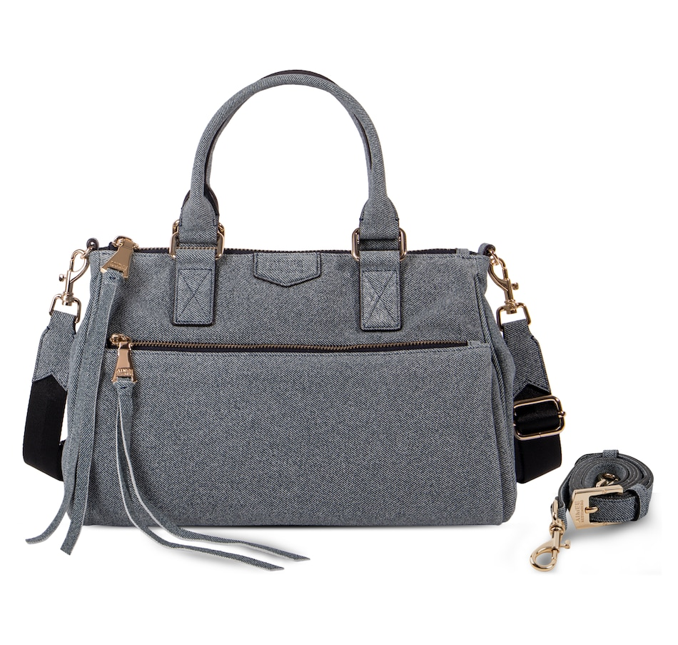 Image 406134_DNM.jpg , Product 406-134 / Price $299.99 , Aimee Kestenberg Dillon Leather Satchel with 2 Straps from Aimee Kestenberg on TSC.ca's Shoes & Handbags department