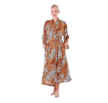 N Natori Printed Satin Robe