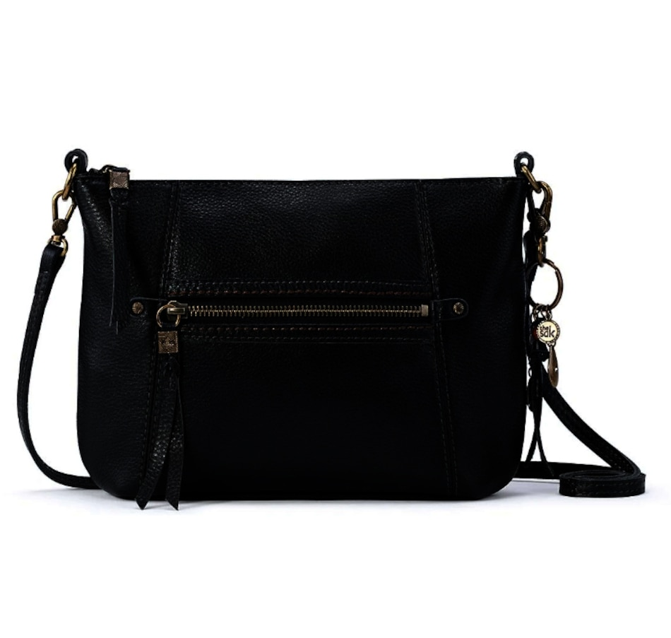 Image 406330_BLK.jpg , Product 406-330 / Price $79.99 - $174.00 , The Sak Sequoia 3-in-1 Leather Crossbody from The SAK Handbags on TSC.ca's Shoes & Handbags department