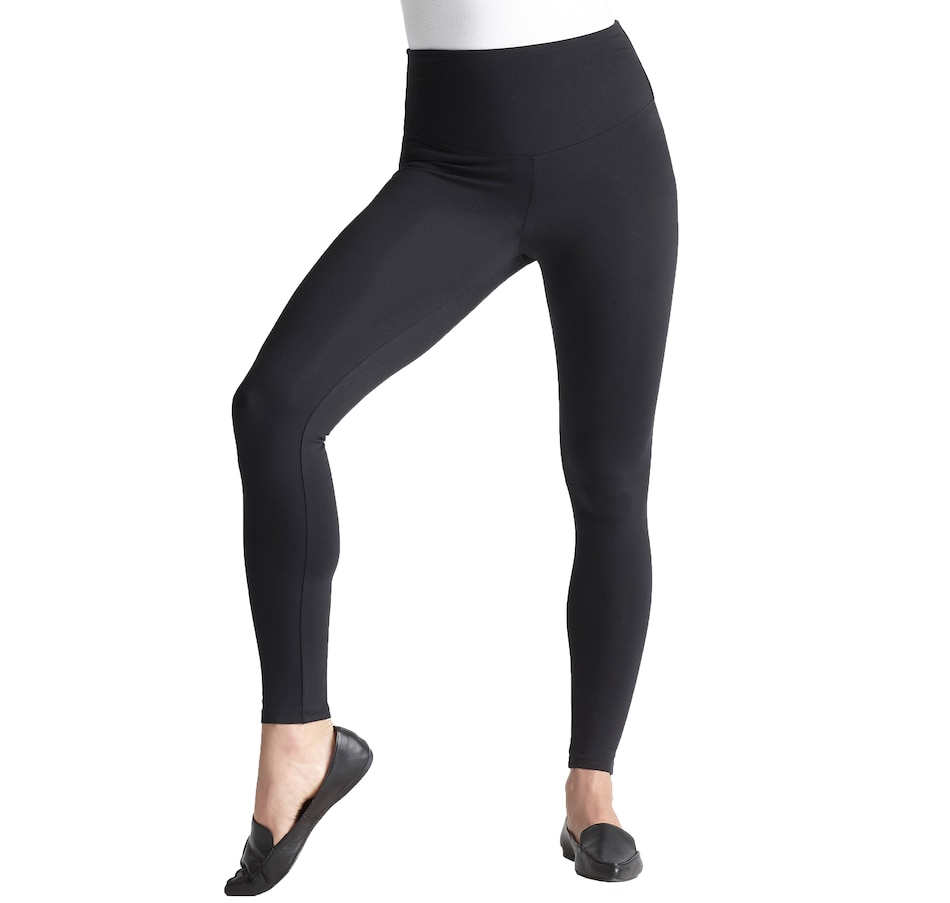 Image 406526_BLK.jpg , Product 406-526 / Price $68.00 , Yummie® Rachel Cotton Stretch Shaping Legging from Yummie - Legging on TSC.ca's Fashion department