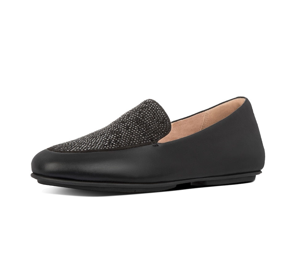Image 406653_BLK.jpg , Product 406-653 / Price $49.33 , FitFlop Lena Crystal Loafer from fitflop on TSC.ca's Shoes & Handbags department