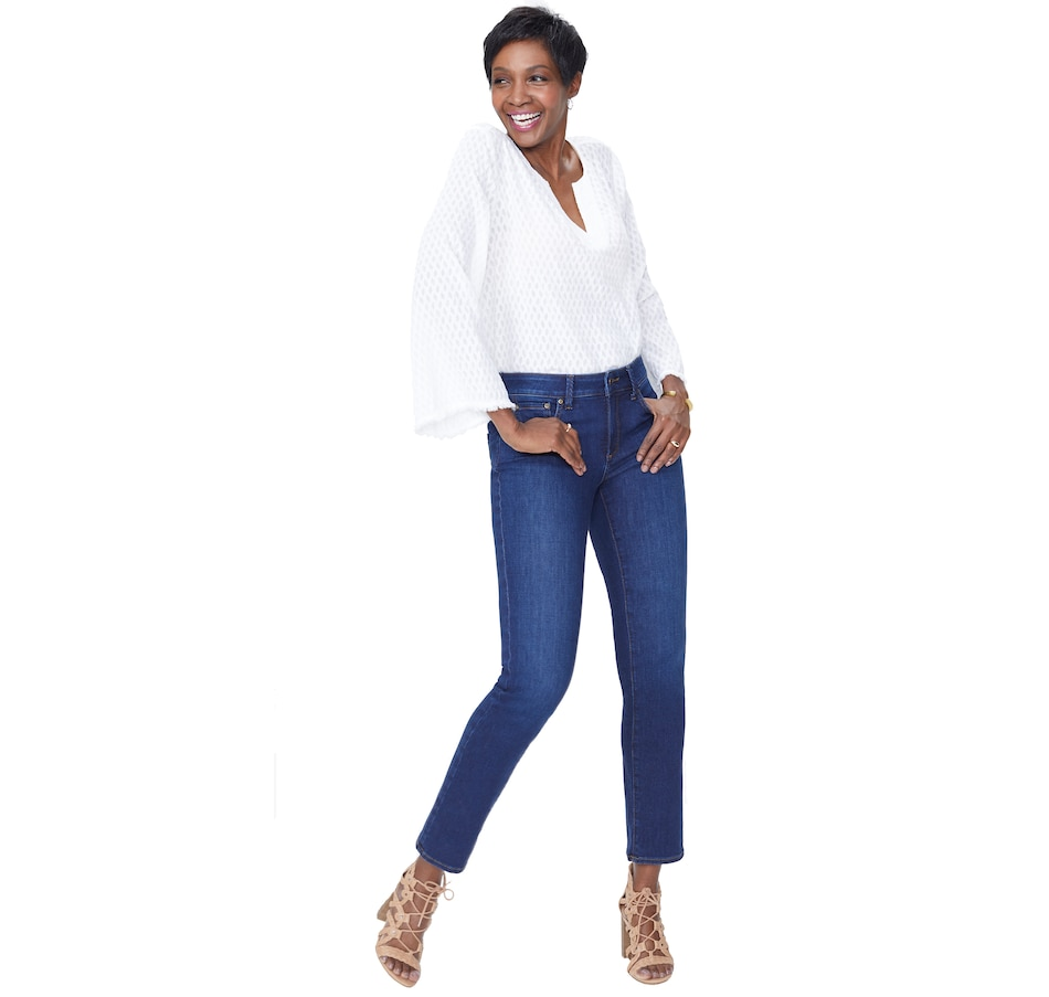 Image 406670_COOPR.jpg , Product 406-670 / Price $149.00 , NYDJ Sheri Slim Essential Jean from NYDJ on TSC.ca's Fashion department