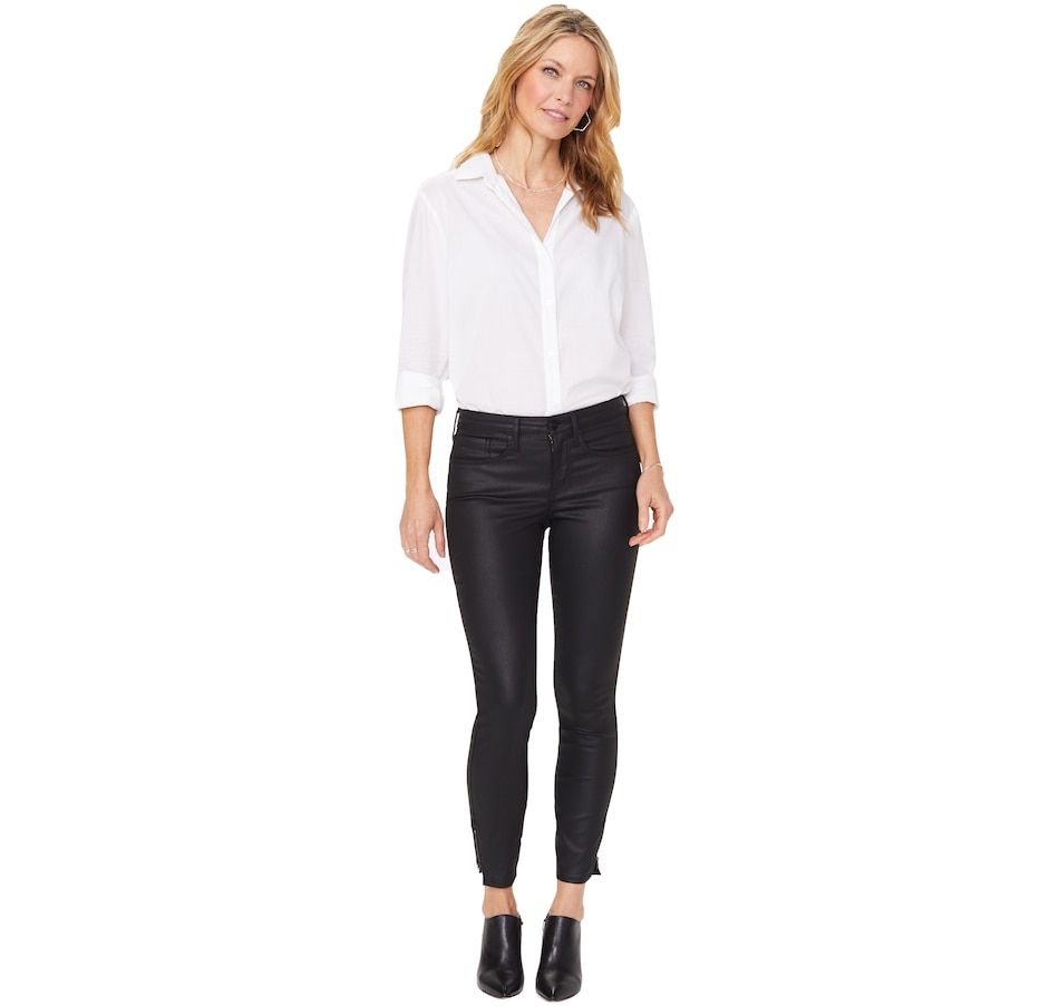 Image 406676_BLK.jpg , Product 406-676 / Price $149.88 , NYDJ Amy Skinny Ankle Hinged Ankle Zip Jean from NYDJ on TSC.ca's Fashion department