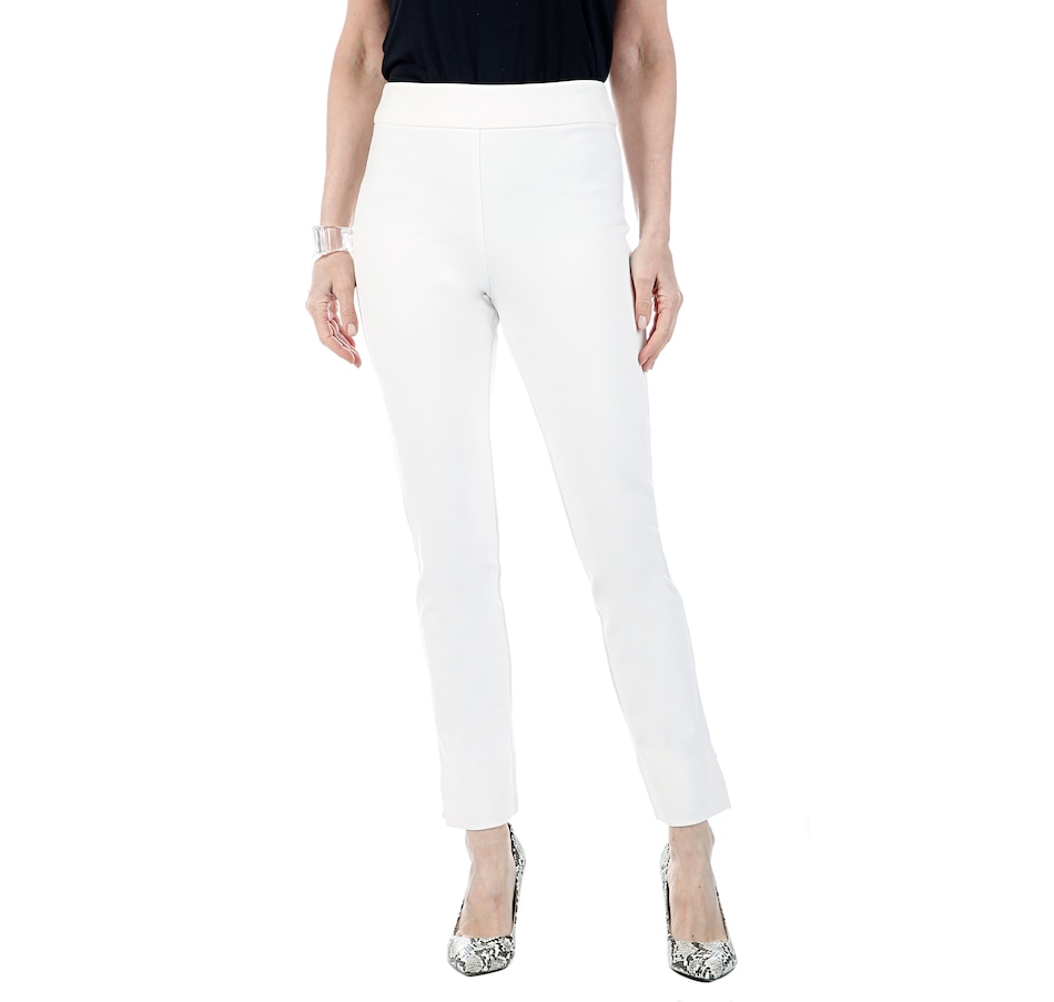 Image 406786_CNVS.jpg , Product 406-786 / Price $34.33 , MarlaWynne Premium Flatter Fit Pant with Side Slits from MarlaWynne on TSC.ca's Fashion department