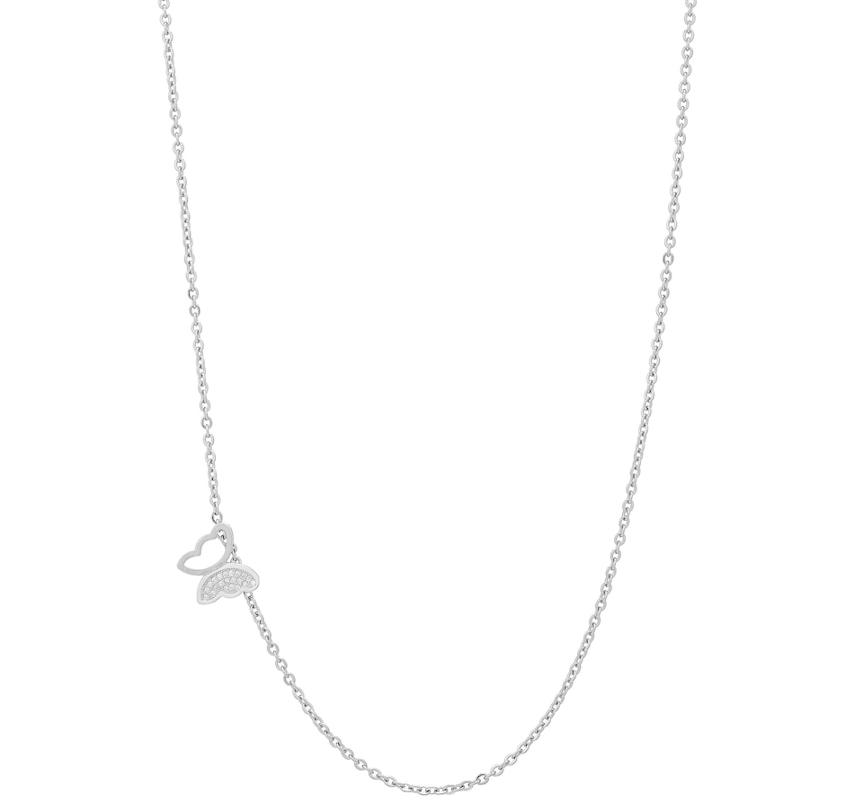Image 406884_SIL.jpg , Product 406-884 / Price $14.88 , Artizan by Robin Barre Simple Butterfly Necklace from ARTIZAN by Robin Barré Jewellery on TSC.ca's Jewellery department