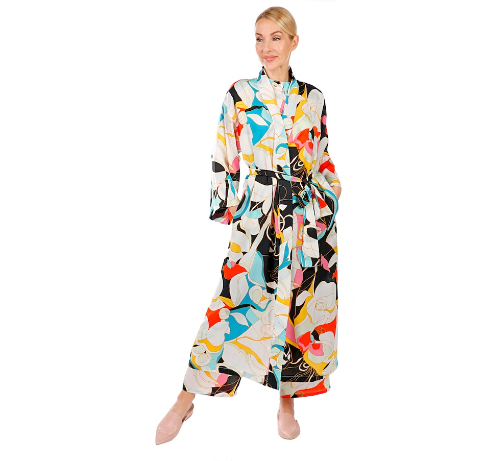 Image 407037_MUP.jpg , Product 407-037 / Price $39.33 , N Natori Silky Satin Robe from N Natori Fashion on TSC.ca's Fashion department