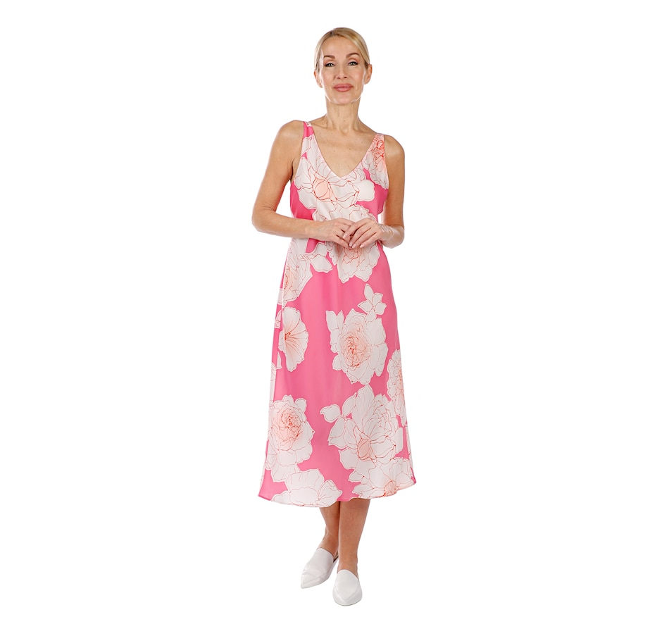 Image 407039_COMU.jpg , Product 407-039 / Price $39.33 , N Natori Silky Satin Gown from N Natori Fashion on TSC.ca's Fashion department