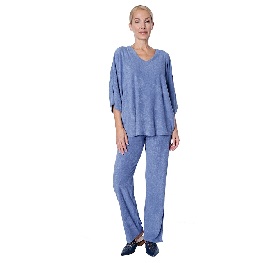 Image 407046_STOBE.jpg , Product 407-046 / Price $70.00 , N Natori Terry Lounge Top from N Natori on TSC.ca's Clothing & Shoes department