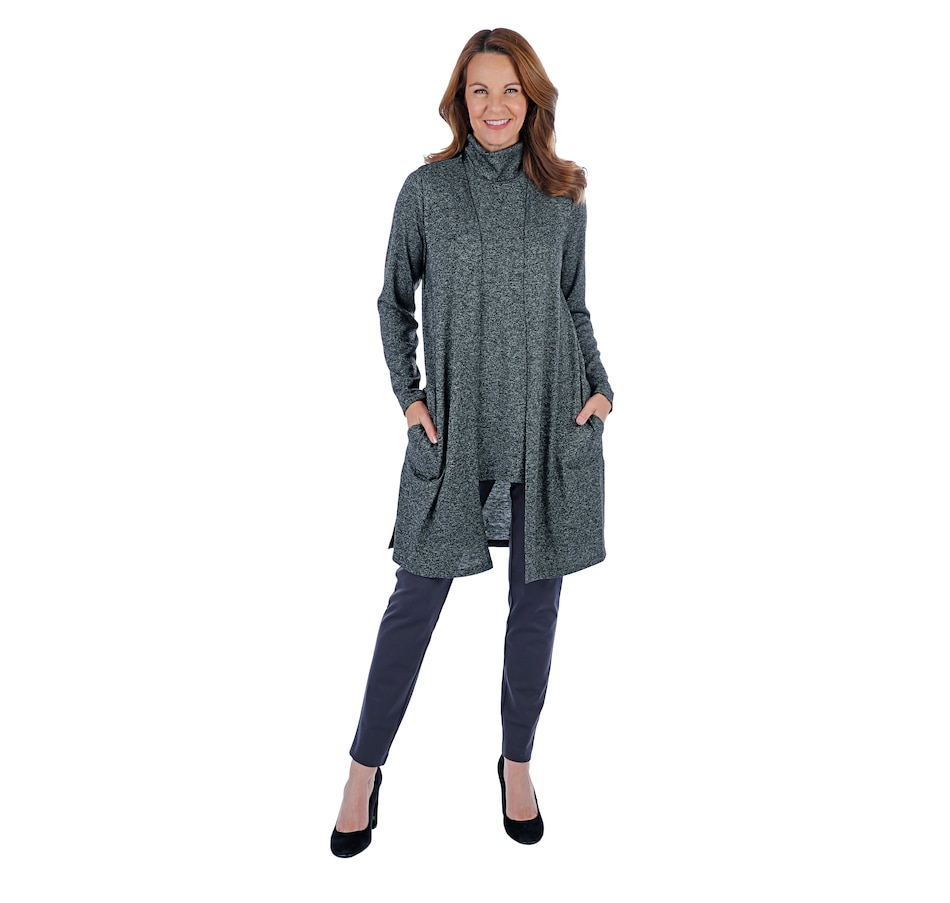 Image 407202_CHR.jpg , Product 407-202 / Price $49.88 , Mr. Max Knit Twin Set Mock Neck & Cardigan from Mr. Max on TSC.ca's Fashion department
