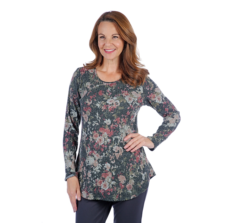 Image 407206_WPT.jpg , Product 407-206 / Price $29.33 , Mr. Max Printed Maryanne Knit Tunic from Mr. Max on TSC.ca's Fashion department