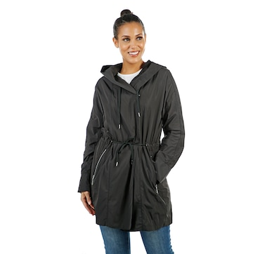 Nuage Lisa Packable Travel Coat with Hood