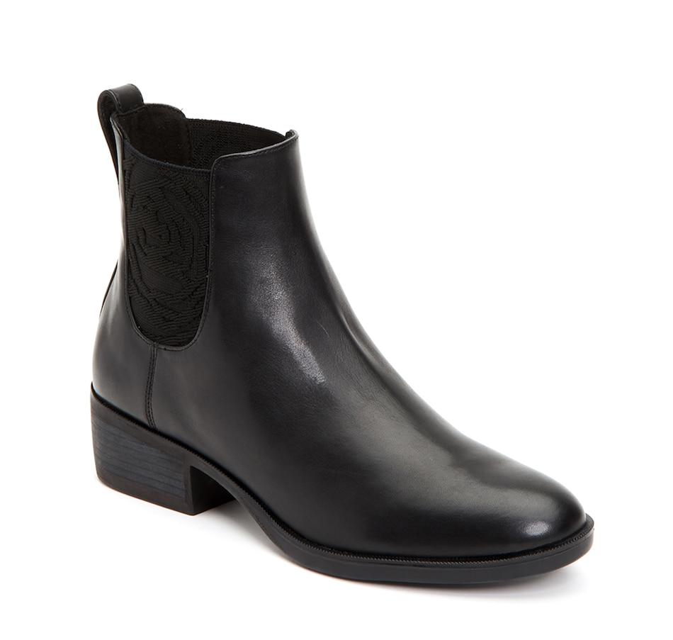 Image 407324_BLK.jpg , Product 407-324 / Price $144.88 , Taryn Rose Gina Ankle Boot from Taryn Rose on TSC.ca's Shoes & Handbags department
