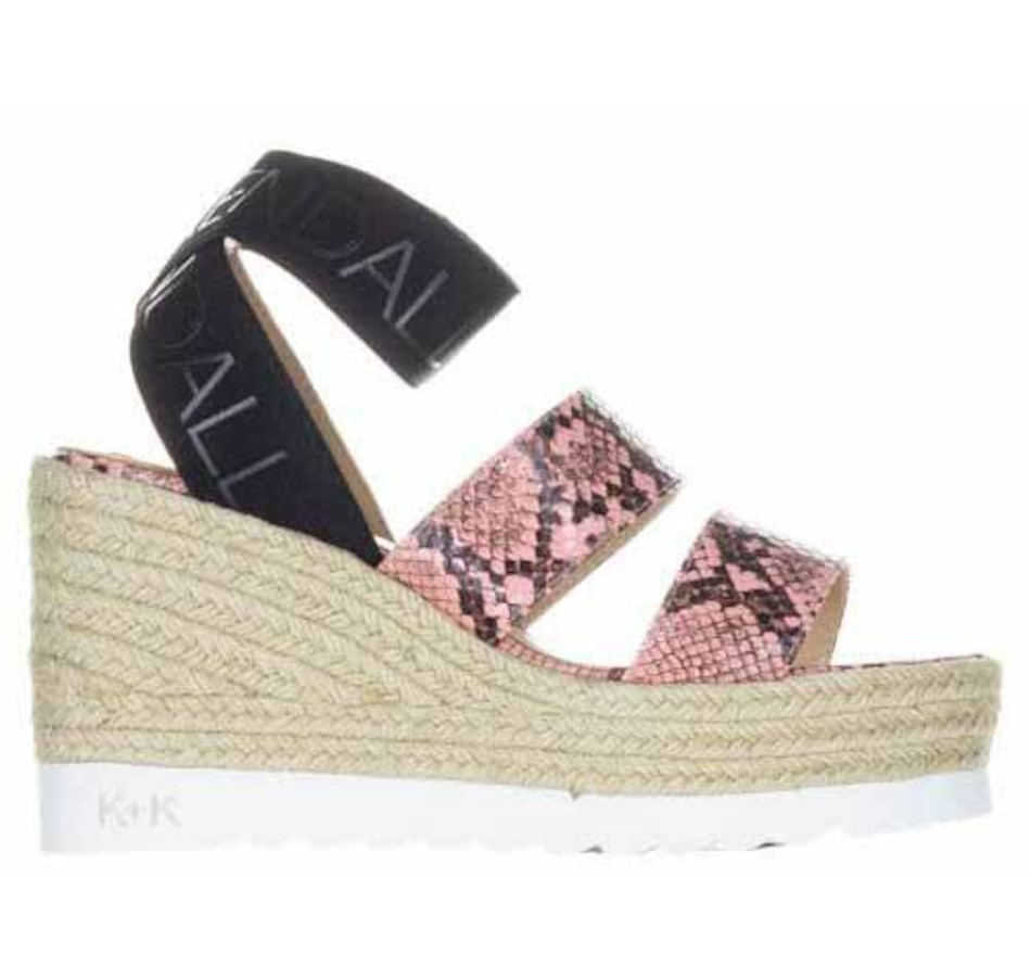 Image 407485_PNK.jpg , Product 407-485 / Price $130.00 , Kendall & Kylie Prim Espadrille Wedge from Kendall & Kylie on TSC.ca's Shoes & Handbags department