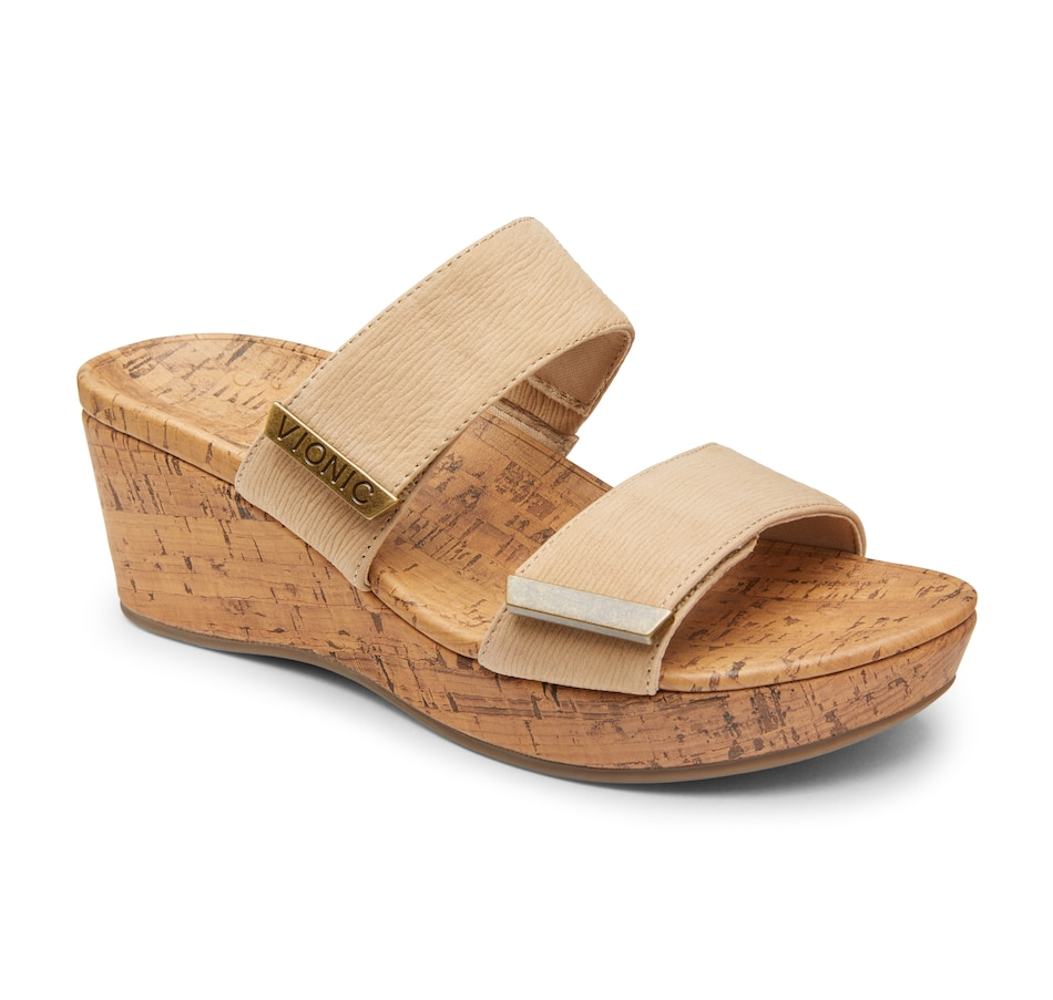 Image 407536_WH.jpg , Product 407-536 / Price $119.88 , Vionic Pepper Wedge Sandal from Vionic on TSC.ca's Shoes & Handbags department