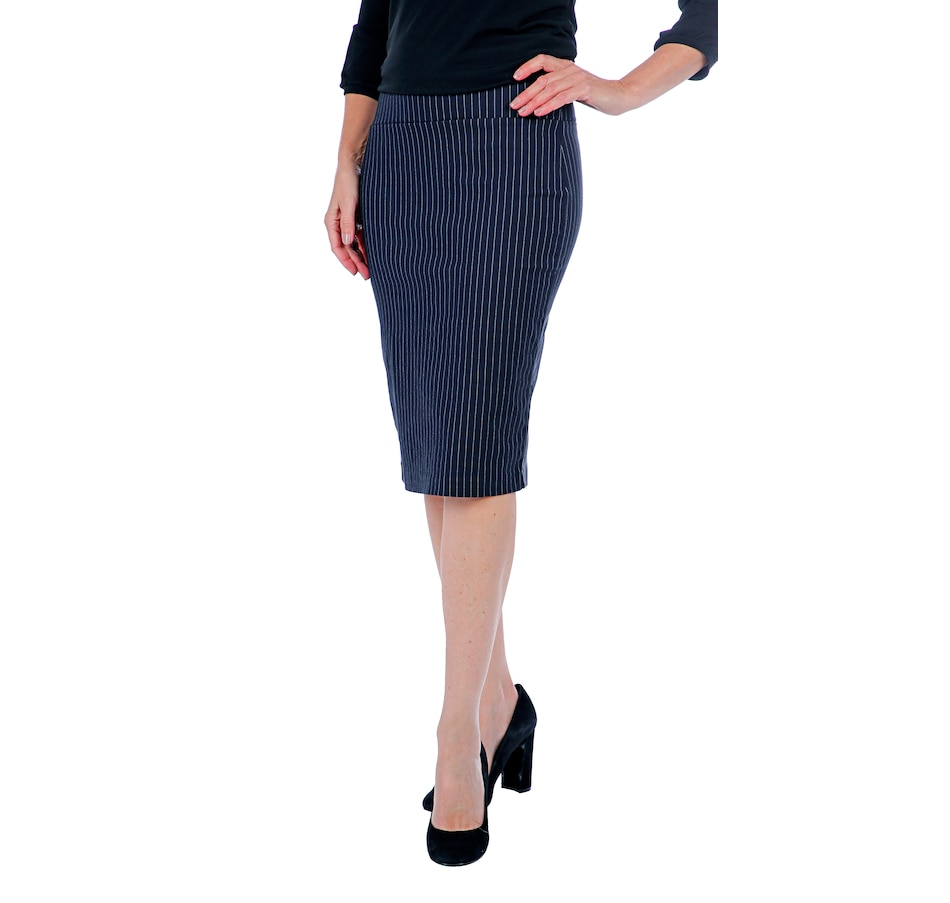 Image 407584_NVS.jpg , Product 407-584 / Price $19.33 , Artizan by Robin Barre Classic Tummy Tuck Pencil Skirt from ARTIZAN by Robin Barré Fashion on TSC.ca's Fashion department