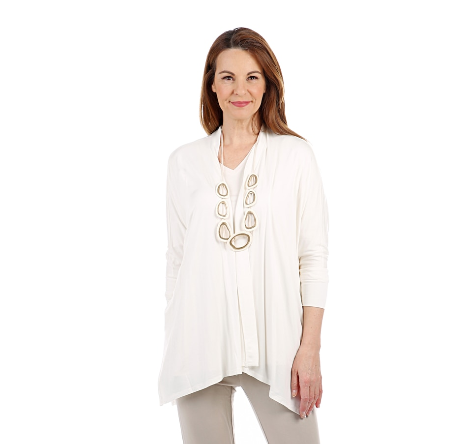 Image 407662_COD.jpg , Product 407-662 / Price $29.33 , WynneLayers Open Front Poncho Cardigan from WynneLayers on TSC.ca's Fashion department