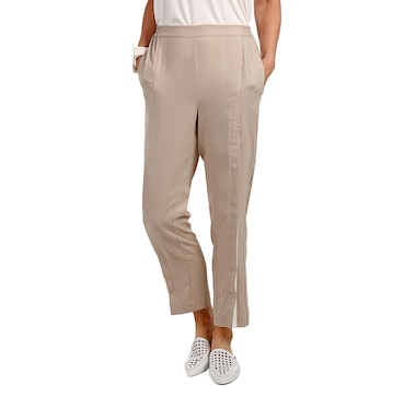 WynneLayers Pull On Pant with Colourblock Front Snap Detail