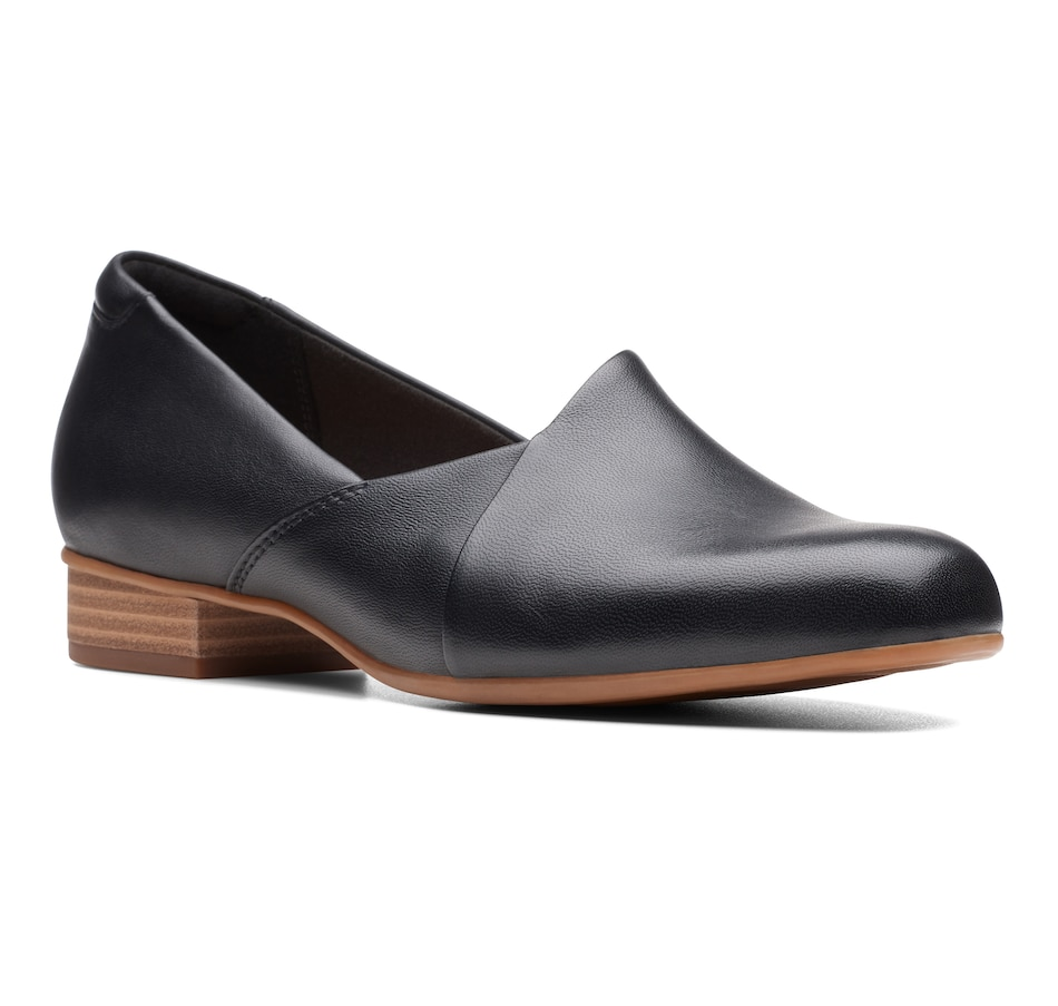Image 407798_BLK.jpg , Product 407-798 / Price $120.00 , Clarks Juliet Palm Slip On from Clarks Footwear - Women on TSC.ca's Shoes & Handbags department