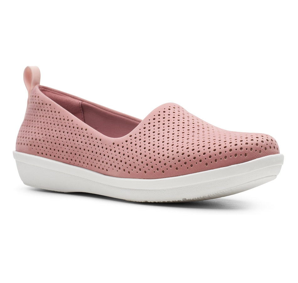 Image 407803_MVE.jpg , Product 407-803 / Price $100.00 , Clarks Ayla Blair Slip On from Clarks Footwear - Women on TSC.ca's Shoes & Handbags department