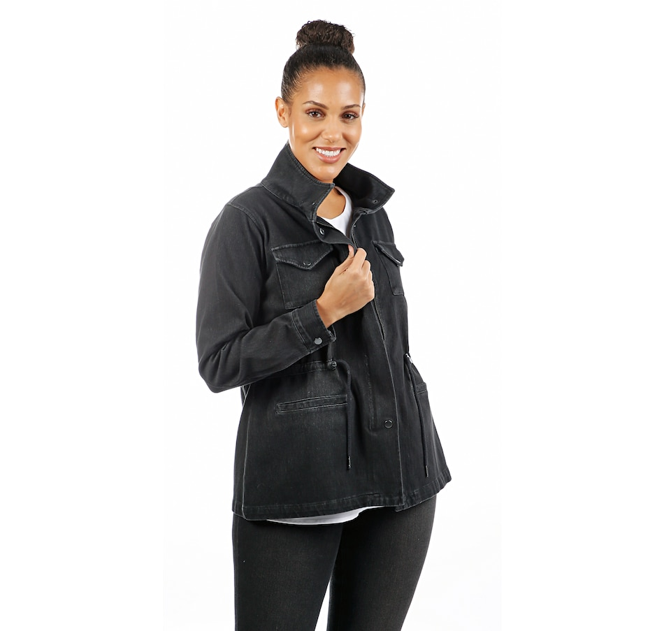 Image 407960_BLK.jpg , Product 407-960 / Price $29.33 , Diane Gilman Knit Twill Cargo Jacket from DG2 by Diane Gilman on TSC.ca's Fashion department