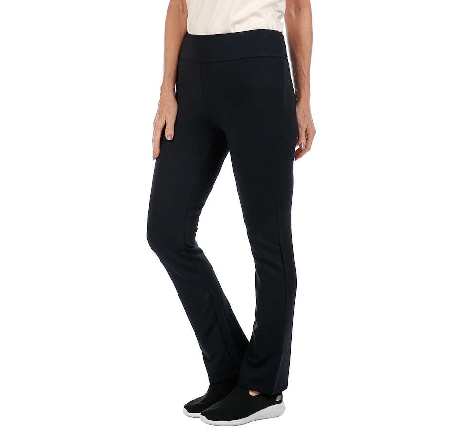 Image 408004_BLK.jpg , Product 408-004 / Price $18.33 , Bellina Flat Front Yoga Pant from Bellina on TSC.ca's Fashion department