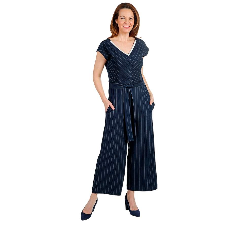 Image 408135_STR.jpg , Product 408-135 / Price $200.00 , Lyssé Anchor Jumpsuit from LYSSÉ on TSC.ca's Fashion department