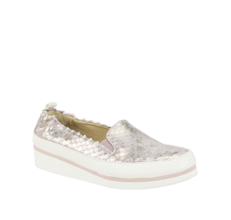 Image 408281_RSE.jpg , Product 408-281 / Price $445.00 , Ron White Nell Metallic Slip On Shoe from Ron White on TSC.ca's Shoes & Handbags department