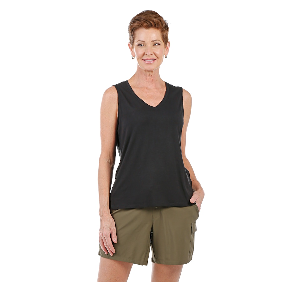Image 408497_BLK.jpg , Product 408-497 / Price $18.33 , Skechers Apparel Travel More Tank from Skechers Apparel on TSC.ca's Fashion department