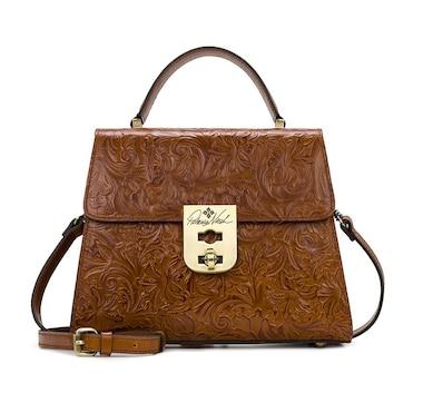 Patricia Nash Chauny Top Handle Leather Satchel