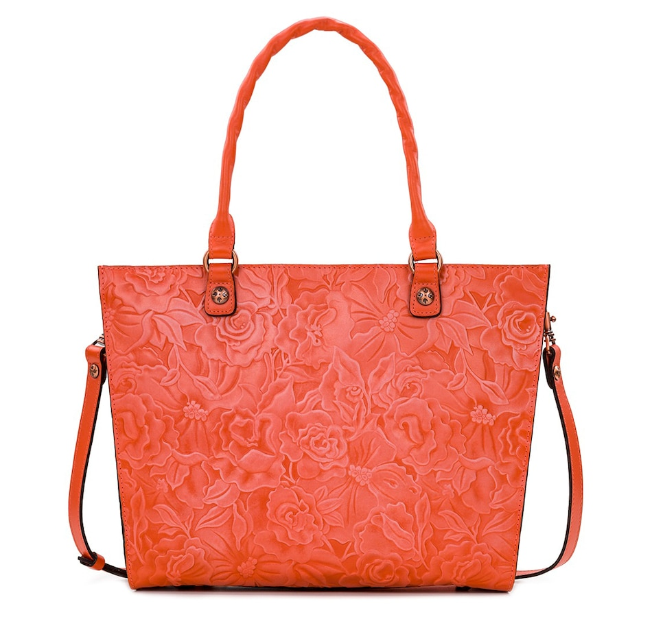Image 408891_BTCOR.jpg , Product 408-891 / Price $249.00 , Patricia Nash Zancona Leather Tote from Patricia Nash on TSC.ca's Shoes & Handbags department
