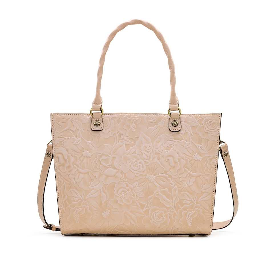 Image 408891_WHT.jpg , Product 408-891 / Price $189.99 , Patricia Nash Zancona Leather Tote from Patricia Nash on TSC.ca's Shoes & Handbags department