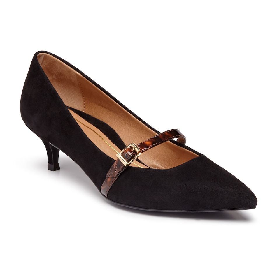 Image 409318_BKSU.jpg , Product 409-318 / Price $184.95 , Vionic Kit Minnie Mary Jane Heel from Vionic on TSC.ca's Shoes & Handbags department
