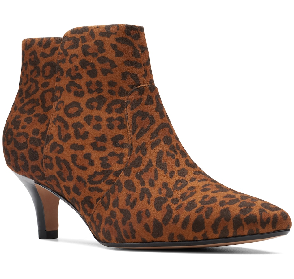 Image 409404_LEP.jpg , Product 409-404 / Price $140.00 , Clarks Linvale Judith Ankle Boot from Clarks Footwear - Women on TSC.ca's Shoes & Handbags department