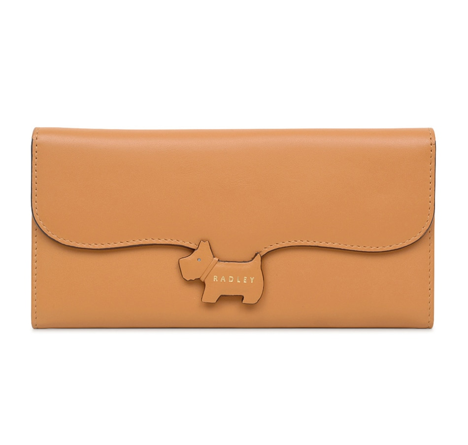 Image 409460_BRN.jpg , Product 409-460 / Price $139.99 , Radley London Crest Large Flapover Matinee Wallet from Radley London on TSC.ca's Shoes & Handbags department
