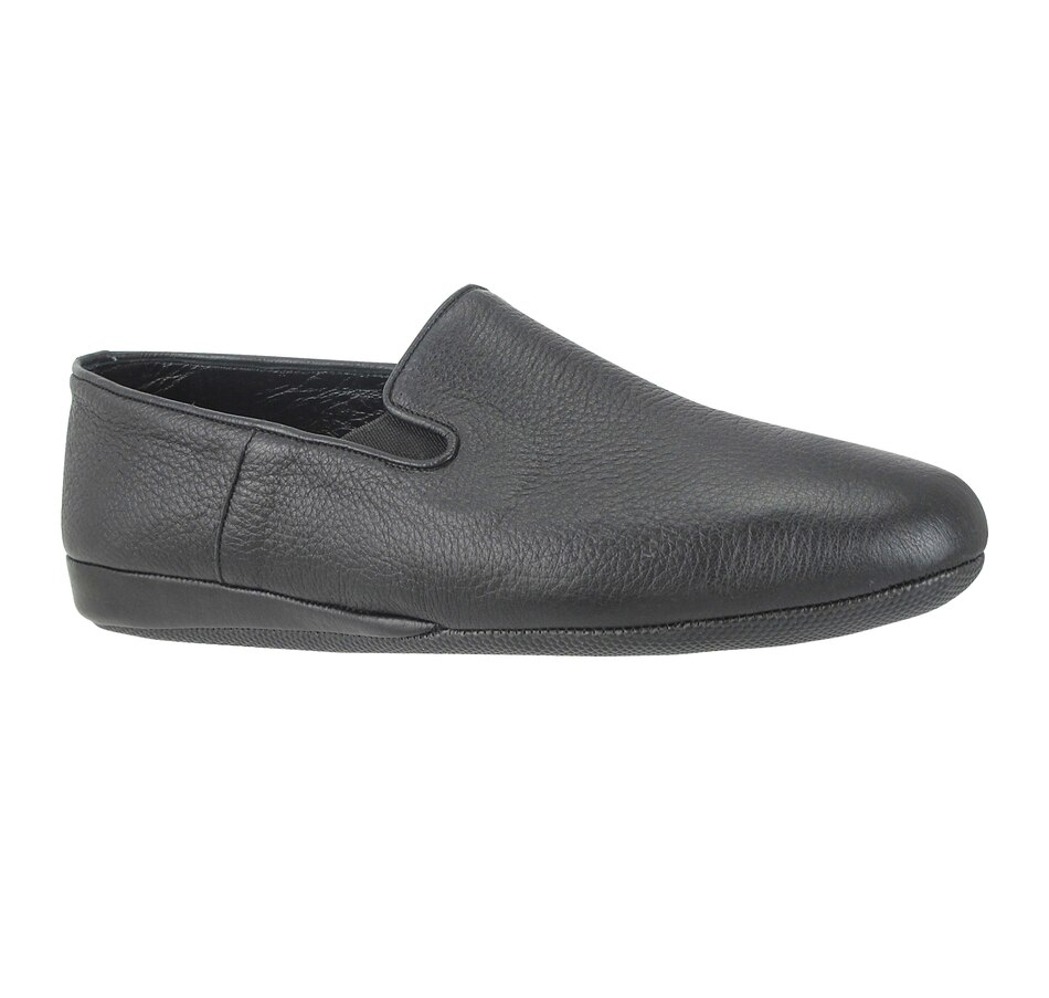 Image 409644_BLK.jpg , Product 409-644 / Price $275.00 , Ron White Men's Heaton Slipper from Ron White on TSC.ca's Fashion department