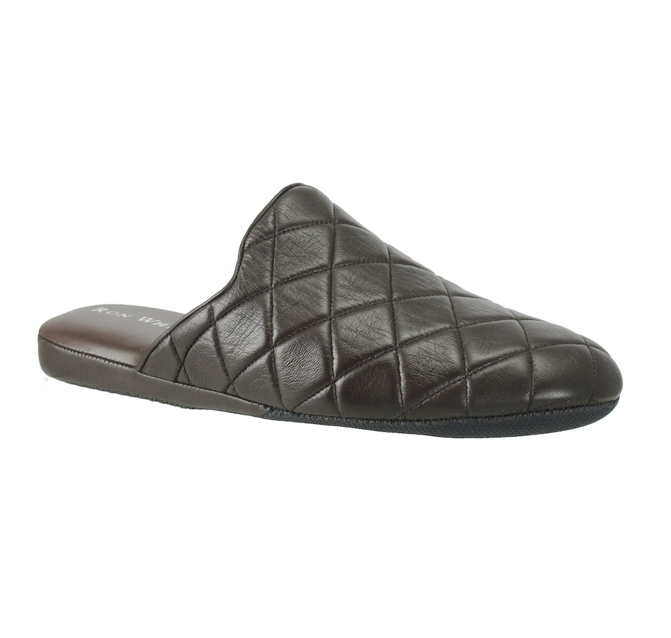 Image 409645_CHO.jpg , Product 409-645 / Price $265.00 , Ron White Men's Harrison Quilt Slipper from Ron White on TSC.ca's Fashion department